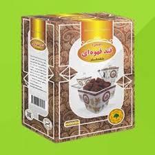 قند قهوه ای بسته بندی