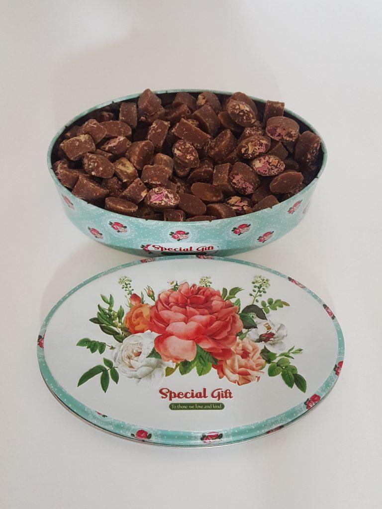 فروش قند قهوه ای گل محمدی ارزان